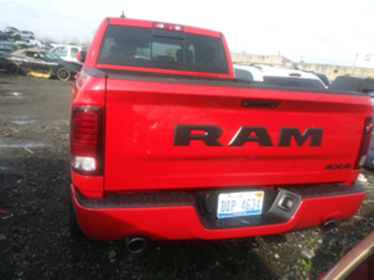 Warren Police found one of the 2018 Ram trucks stolen from the Fiat Chrysler Warren Truck Assembly Plant storage yard.