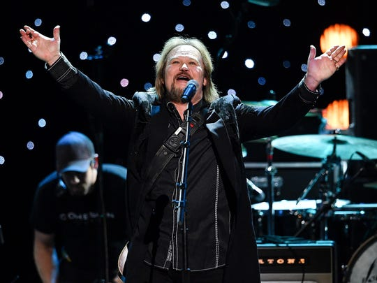 Country star Travis Tritt, known for incorporating
