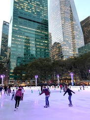 The Christmas markets have opened in Bryant Park in