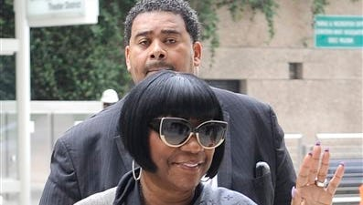 Soul singer Patti LaBelle arrives at the federal courthouse for jury selection Tuesday in Houston. A former West Point cadet is suing LaBelle saying she ordered her bodyguards to beat him up as he waited for a ride home outside a Houston airport terminal in 2011.