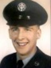 A profile shot of Jerry Handl when he served in the U.S. Air Force.