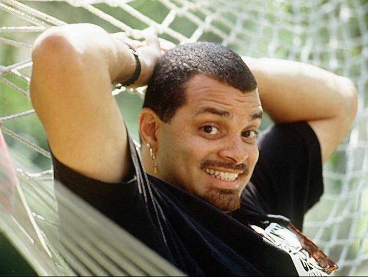 -  -(GANNETT PHOTO NETWORK) Portrait of actor, Sinbad.