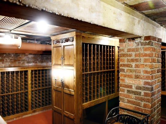 The wine cellar that is currently being built in the