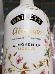 A bottle of non-dairy Bailey's Irish Cream at Nine Irish Brothers.