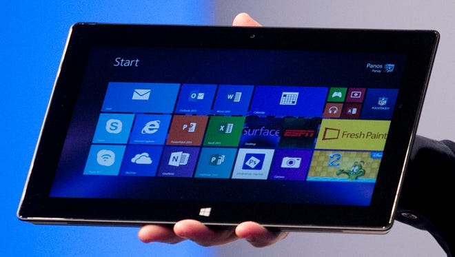 Microsoft's Surface Pro 2 was introduced in New York in September 2013.