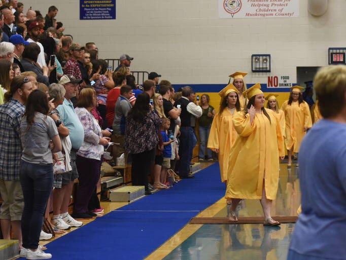 Philo High School held its graduation on Friday.