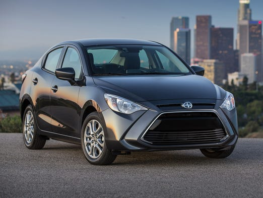 The 2016 Scion iA sedan, along with the 5-door hatchback