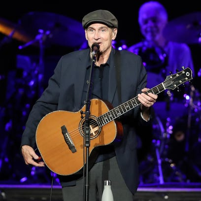 James Taylor, Bonnie Raitt deliver a night of cherished songs, friendship at Resch