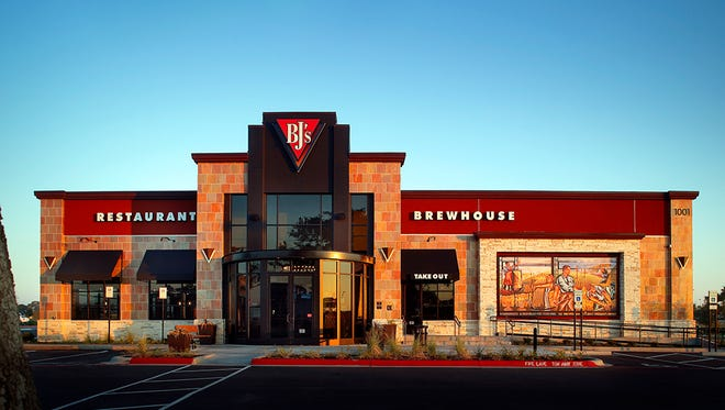 BJ's Restaurant and Brewery is set to open in the first half of 2016 in the Ambassador Town Center anchored by Costco.