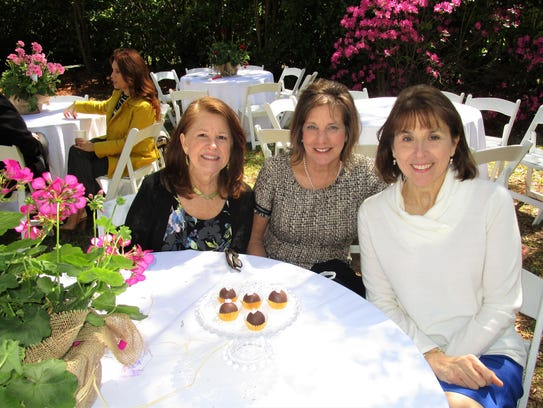 Louise Ganucheau, Connie Gutherie and Michelle Munsell