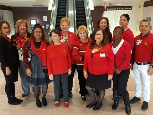 Raritan Bay Medical Center team members recognize World AIDS Day PHOTO CAPTION