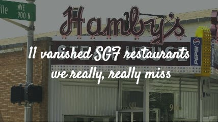 11 vanished SGF restaurants we really, really miss
