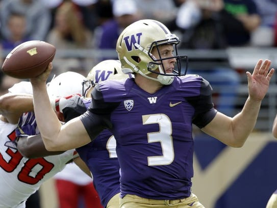 Jake Browning led Washington to the College Football