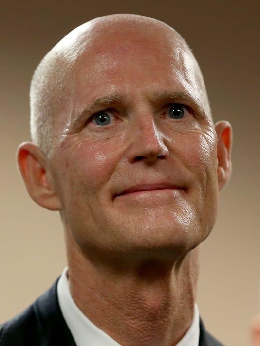 Florida Gov. Rick Scott Announces Carlos Lopez-Cantera As Lieutenant Governor
