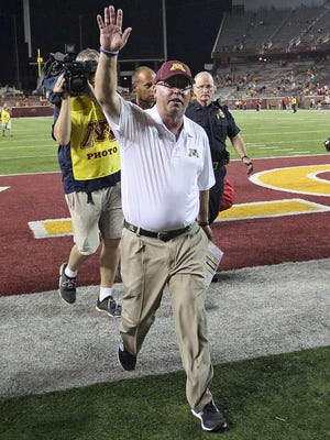 Minnesota Golden Gophers head coach Jerry Kill declined speaking about his health at a press conference Tuesday after he suffered another game-day seizure on Saturday.