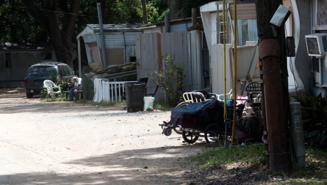 A judge has granted the Department of Health's request to temporarily close the Circle Trailer Park located off Lillian Hwy citing health threatening living conditions.