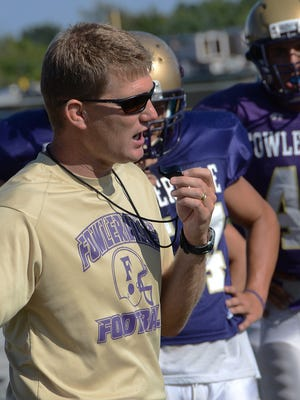 Bret Shrader (pictured) resigned from his position as Fowlerville's head football coach. Boys basketball coach Fred Hackett and girls basketball coach Nick Douglass resigned as well.