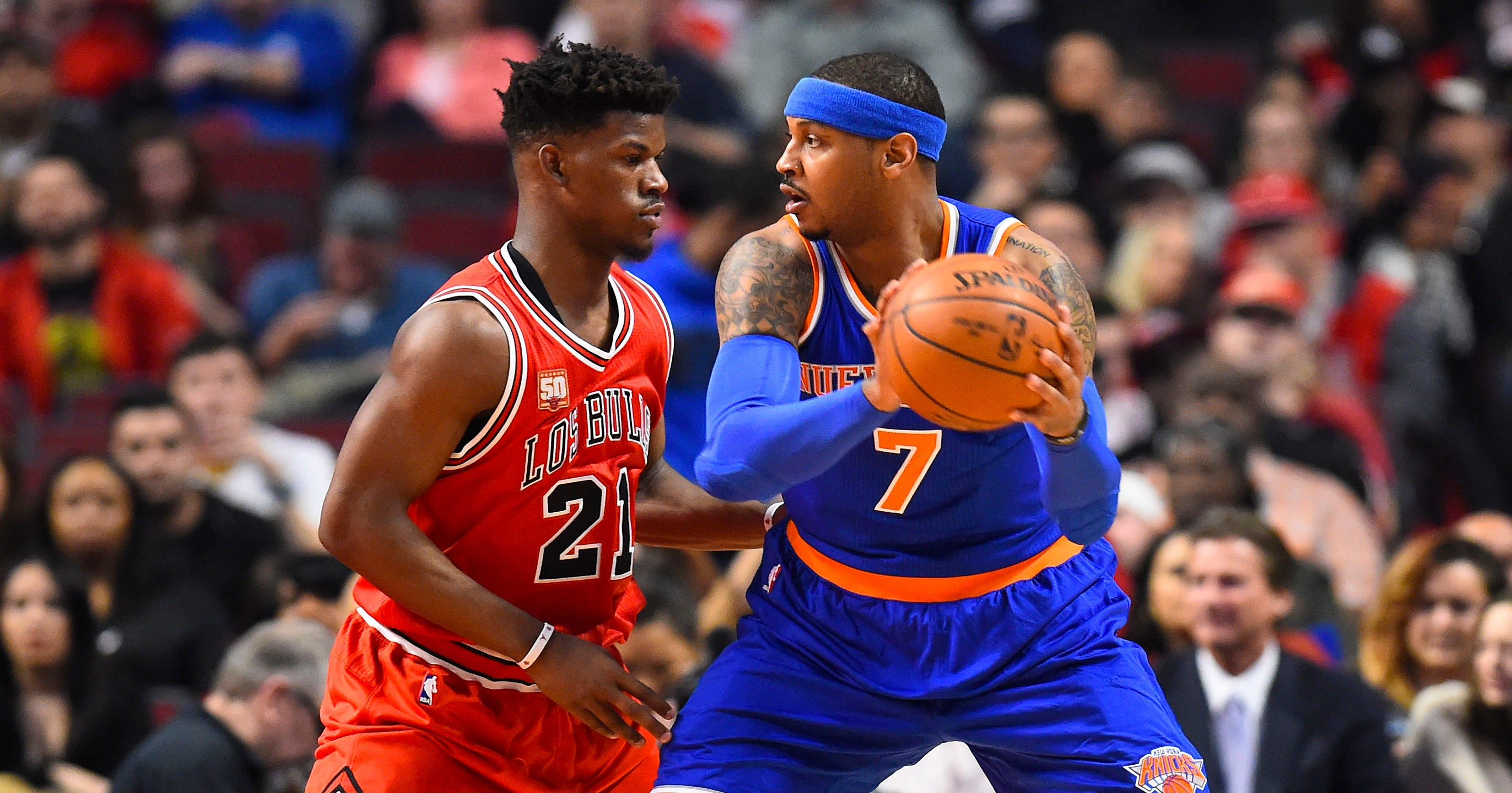 NBA trade deadline  Are Carmelo Anthony and Jimmy Butler being shopped  d50c61cfd