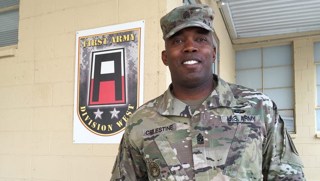 Command Sgt. Maj. Martin S. Celestine Jr., who has strong ties to Fort Bliss, is the new senior enlisted leader for the 5th Armored Brigade.