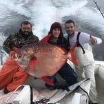 Ocean City fisherman makes rare moonfish catch