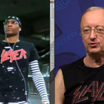 Clayton says Westbrook wore the Slayer shirt better.