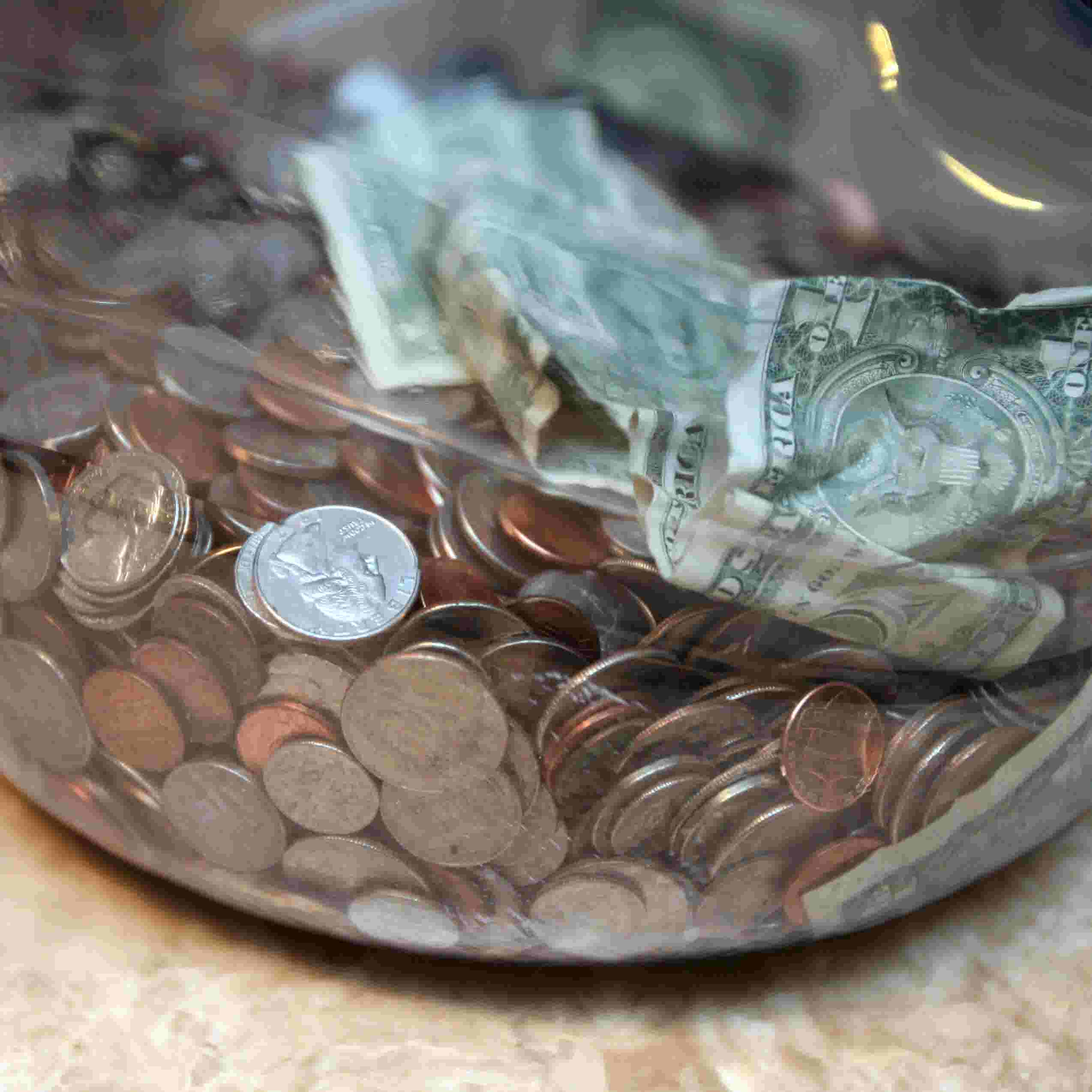 Spare Change Can Pile Up To A Splurge