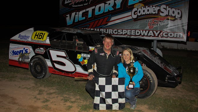 Green Bay veteran Eddie Muenster has been winning on both dirt and asphalt tracks this year. Muenster has the points lead in the late model division at Wisconsin International Raceway in Kaukauna.