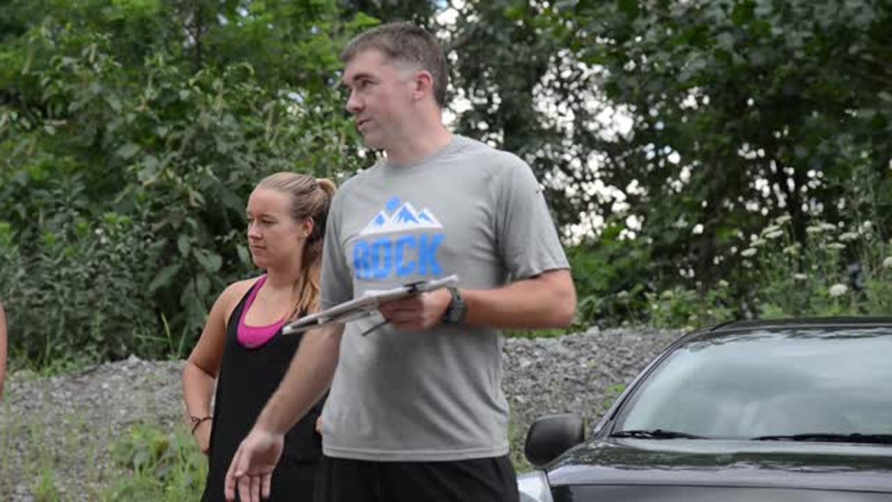 Race director Jon Neumann talks about training for and running the Asheville Super Spartan Race on Aug. 6, 2016 and the Rock the Quarry Trail Challenge 5K on Sept. 17, 2016.