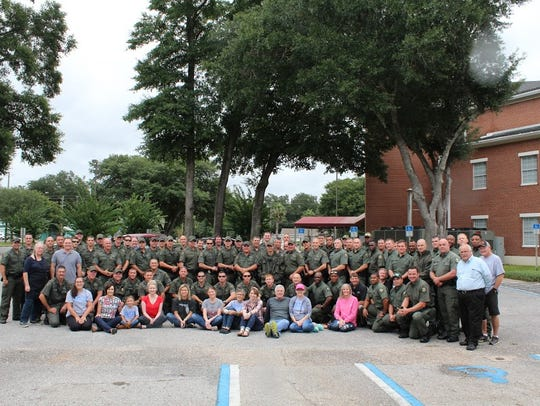 Fish and Wildlife officers from Mississippi and Louisiana