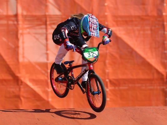 Olympics: BMX-Individual Seeding