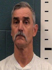 Patrick Howard's booking photo at Doña Ana County Detention Center, upon his arrest on Feb. 20, 2018.