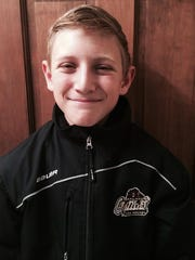 Chad Noetzel of Oakland Jr. Grizzlies Pee Wee