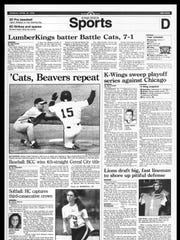 This Week In BC Sports History - April 23, 1995