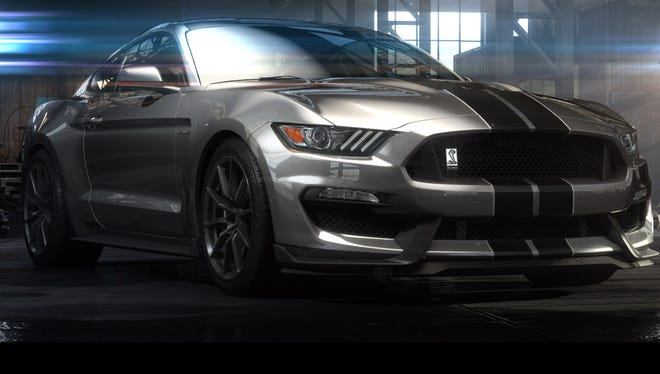 Ford is showing off its hot Shelby GT350 Mustang