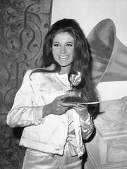 "Bobby Gentry won a Grammy for Best Female Vocal Performance with ""Ode to Billie Joe"" in March 1968."