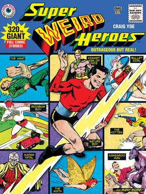 """""""Super Weird Heroes"""" features 32 of the worst superheroes."""