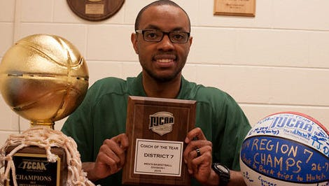 """Columbia State coach Brian """"Penny"""" Collins"""