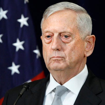 Defense Secretary Jim Mattis' new policy on transgender troops expected by Wednesday