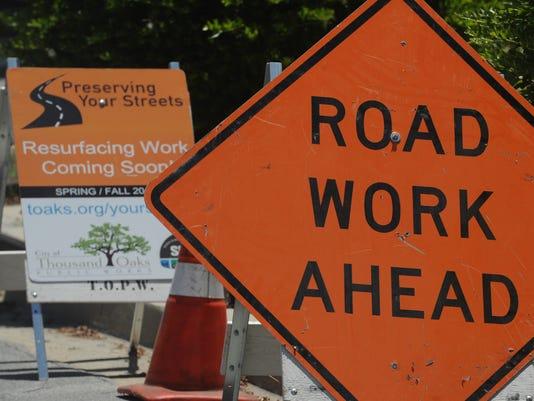 Street resurfacing 2