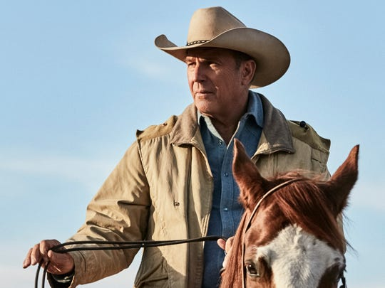 Kevin Costner plays John Dutton, the powerful patriarch of a Montana ranching family in Paramount Network's 'Yellowstone.'