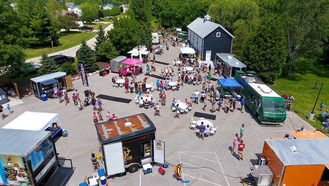 The Blind Horse Restaurant & Winery's food truck festival returns to Kohler on May 19 and 20.