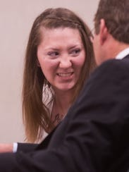 Nytosha LaForce appears in Vermont Superior Court in