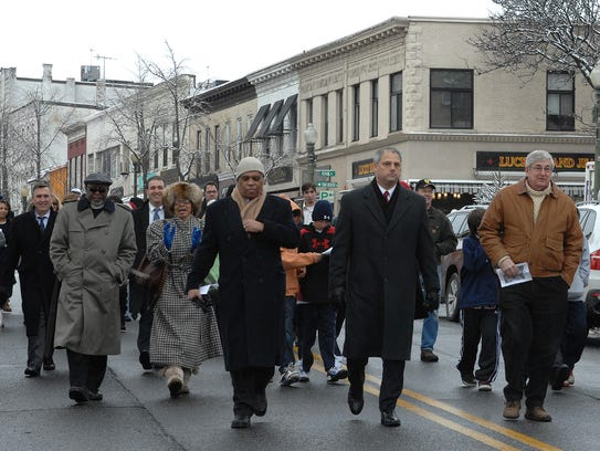 File -- In this photo from Jan. 19, 2009, the Rev.