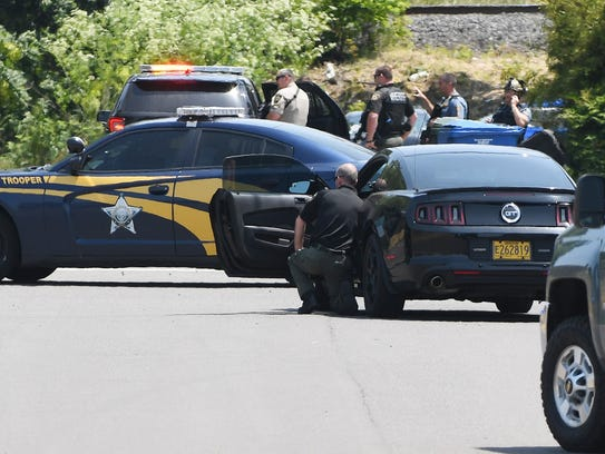 Law enforcement responded Wednesday, June 6, 2018 at
