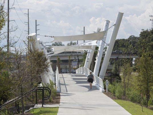 pedestrian walkway now open