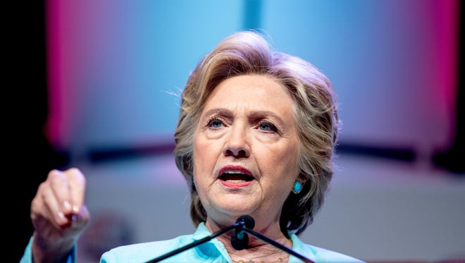 A reader doesn't want to vote for Democratic presidential candidate Hillary Clinton (pictured) or her opponent, Donald Trump.