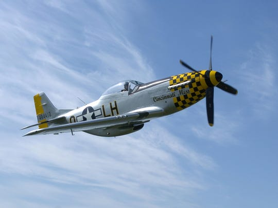 Tri-State Warbird Museum's North American Aviation P-51D Mustang the Cincinnati Miss.