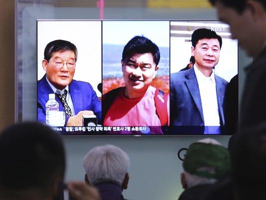 Kim Dong Chul,Tony Kim,Kim Hak Song
