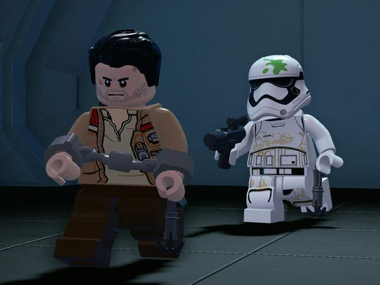 "The new ""LEGO Star Wars"" video game features story"