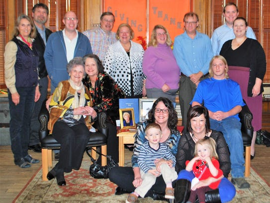 Dedication –  The family of Sheila Coldwell dedicated